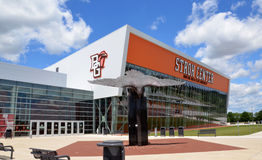Stroh Center at Bowling Green State University. BOWLING GREEN, OH - JUNE 25: Stroh Center arena at Bowling Green State University in Bowling Green, Ohio, is royalty free stock photography