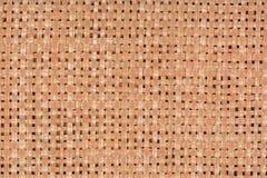 Stroh placemat Beschaffenheitshintergrund, Abschluss oben Lizenzfreie Stockbilder