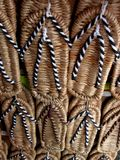 Strohpantoffel Stockbilder