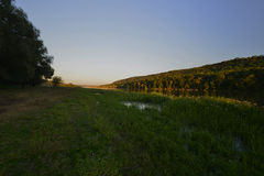 Stroieti, het dorp van Transnistria Rybnitsa Royalty-vrije Stock Foto
