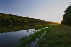Stroieti, vila de Transnistria Rybnitsa Fotos de Stock Royalty Free