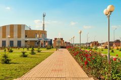 Stroitel市,别尔哥罗德州地区 俄国 库存图片
