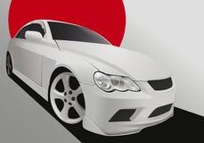 Strojeniowy samochód w ciało zestawie Obraz Royalty Free