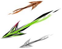 Stroke Arrow Royalty Free Stock Photo