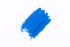 Stroke blue paint Royalty Free Stock Images