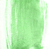 Stroke of green paint brush for background Royalty Free Stock Photos