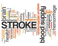 Stroke Royalty Free Stock Image