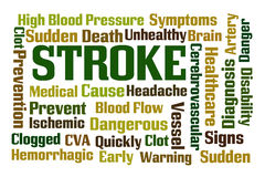 Stroke Royalty Free Stock Images