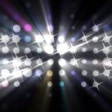 Stroken van licht Stock Foto