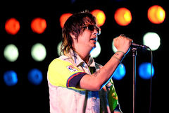 The Strokes (band) performs at Primavera Sound 2015 Festival Stock Photography