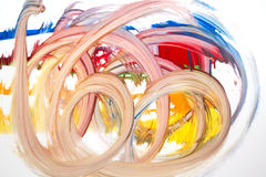 Strokes of color Royalty Free Stock Photo