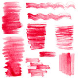 Strokes od paint Royalty Free Stock Images