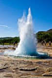 strokkur Исландии geysir Стоковое Фото