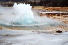 Strokkur en Islande Image stock