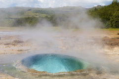 Strokkur Geyser Royalty Free Stock Photography