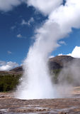 Strokkur geyser, Iceland Royalty Free Stock Images