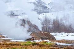 Strokkur geyser in Iceland Stock Images