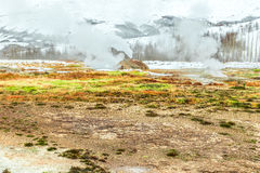 Strokkur geyser in Iceland Royalty Free Stock Photography