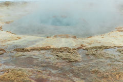 Strokkur geyser in Iceland Stock Photo