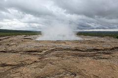 Strokkur geyser, Iceland Stock Photo