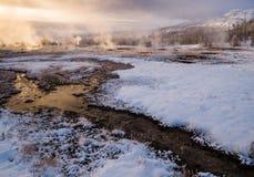 Strokkur geyser, Iceland Royalty Free Stock Photos