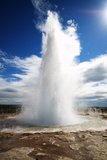 Strokkur Geysir eruption, Iceland Stock Photo