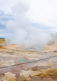 Strokkur geysir, Haukadalur valley,  southwestern Iceland Stock Images