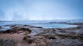 Strokkur, Geysir, Iceland Stock Photos