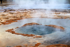 Strokkur at rest Royalty Free Stock Image