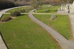 stroll реки сада к Стоковая Фотография