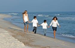 Stroll de famille Photographie stock libre de droits