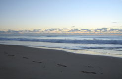 Stroll de lever de soleil image libre de droits