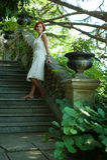 Stroll through the garden Stock Image