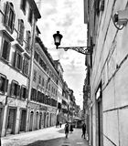 Stroll through Italy. Italian alleyway in Florence royalty free stock photos