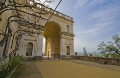 A Stroll at Villa d'Este. A spring stroll at Villa d'Este in Tivoli Royalty Free Stock Photos