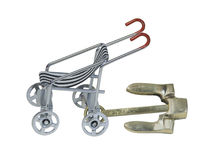Stroller with Anchor Stock Images