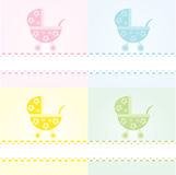 Strollers / New baby arrival Stock Photos
