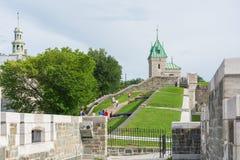 Strollin в Квебеке (город) стоковая фотография