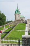 Strollin в Квебеке (город) стоковые фото