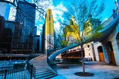 Strolling στο Σικάγο στοκ φωτογραφίες