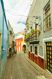 Strolling through the colonial city of Guanajuato. A walk through the beautiful colonial city of Guanajuato Mexico. Ancestral city located between hills and royalty free stock photography