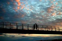 Strolling Couple_2 Στοκ φωτογραφία με δικαίωμα ελεύθερης χρήσης