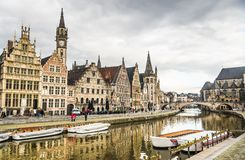 Strolling in Gent Royalty Free Stock Image