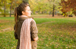 Strolling in the park. Stock Photo