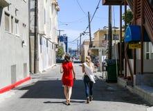Strolling through Venice Beach Royalty Free Stock Photography
