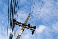 Strom-Beitrag Lizenzfreie Stockbilder