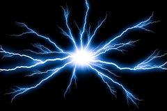 Strom-Blitzdonner lokalisiert Lizenzfreies Stockfoto