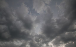 Strom cloud sky Royalty Free Stock Image