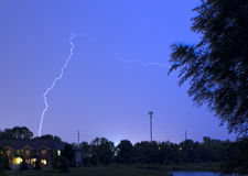 Strom. In Columbus Ohio United states USA Royalty Free Stock Photography