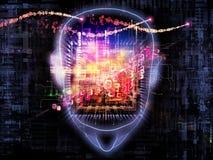 Strom des Bewusstseins lizenzfreie abbildung